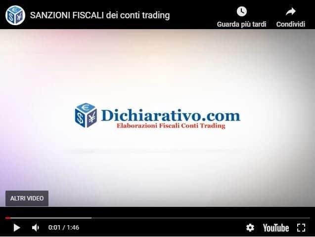 Sanzioni Fiscali Conti Trading