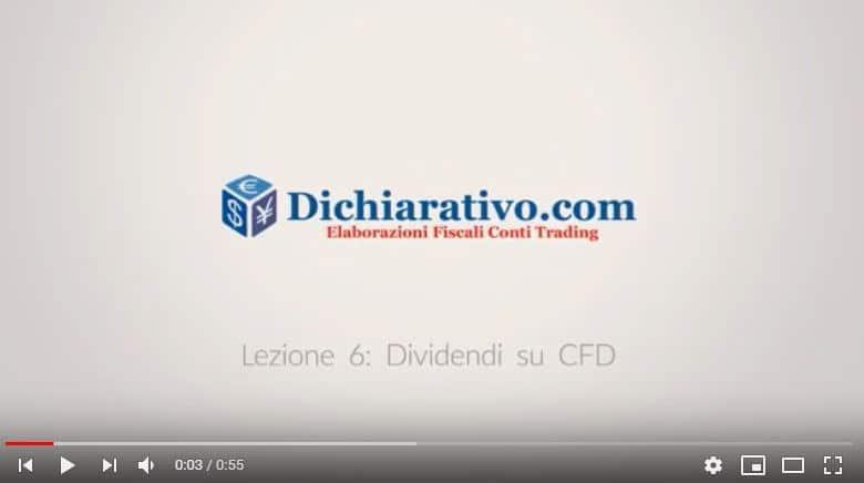 Tassazione dividendi su CFD